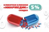 Скидки на аптечную продукцию